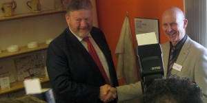 Minister James Reilly opens the new Jigsaw Hub in North Fingal